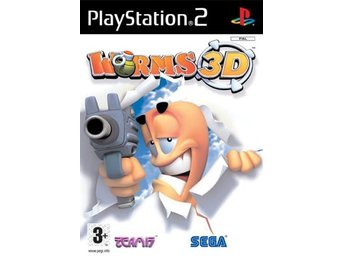 Worms 3D - Playstation 2 PS2