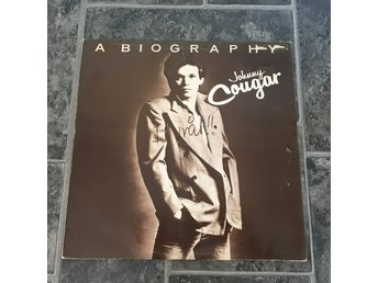 JOHNNY COUGAR - A BIOGRAPHY. (LP)