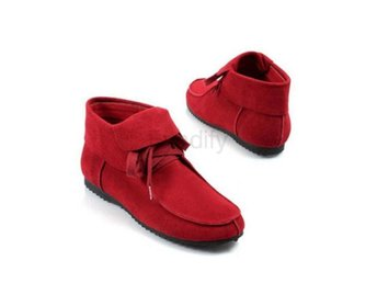 Dam Boots Casual Boots Women Shoes Size 32-42 Red 37
