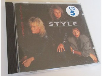 CD: STYLE Daylight Robbery (Original Alpha 1987!) VERY RARE!!