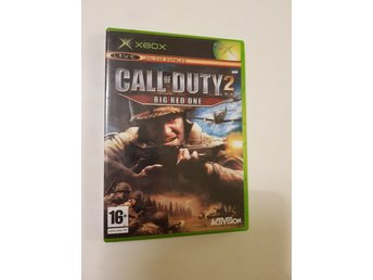 Call of Duty 2: Big Red One - XBOX (Komplett!)