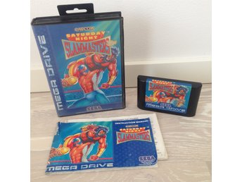 Saturday Night Slammasters (PAL) - SEGA MEGA DRIVE slam masters