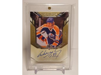 2014-15 Ultimate Collection '04-05 Retro Ultimate Signatures #RUSWG Wayne Gretzk