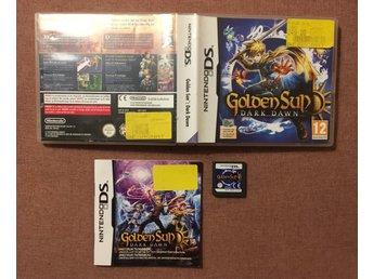DS - Golden Sun Dark Dawn - PAL (330485244) ᐈ Köp på Tradera