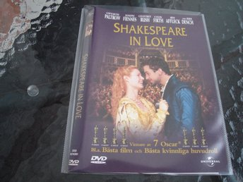 DVD-SHAKESPEARE IN LOVE *Gwyneth Paltrow, Joseph Fiennes, Colin Firth mfl*