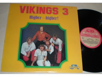 Vikings 3 Lp Higher - Higher 1978 VG++