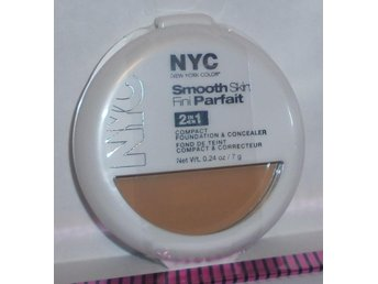 NYC SMOOTH SKIN 2in1 Compact Concealer New York Color IVORY