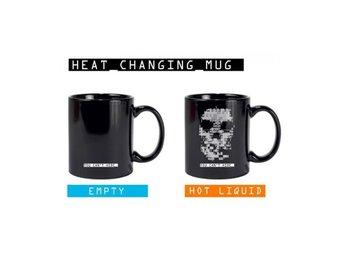 Watch Dogs Heat Changing Mug Skull - Uppsala - Watch Dogs Heat Changing Mug Skull - Uppsala