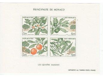 Monaco 1991. Mnr: Block nr 52 ** - Njurunda - Monaco 1991. Mnr: Block nr 52 ** - Njurunda