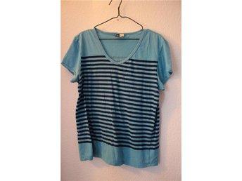 Blå randig t-shirt H&M - Halmstad - Blå randig t-shirt H&M - Halmstad