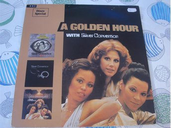 SILVER CONVENTION - A GOLDEN HOUR LP 1977 TOPPSKICK!