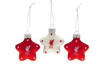 Liverpool Julgranskulor Star 3-pack
