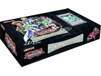 Yu-Gi-Oh!  Legendary Collection 5D'S, Box, Oöppnad.