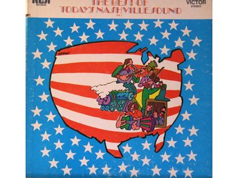 4 LP: The best of Today's Nashville Sound  Blandade RCA-artister 60/70-tal