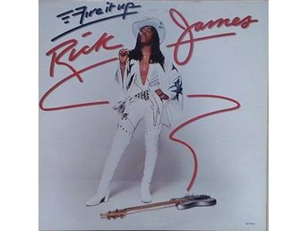 Rick James title* Fire It Up* Funk, Disco US LP