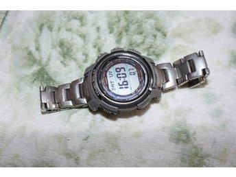 Casio Protrek Alti Temperature Compass Tough Solar Watch PR200T Diameter51 mm - Dalby - Casio Protrek Alti Temperature Compass Tough Solar Watch PR200T Diameter51 mm - Dalby