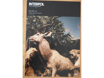 Poster Interpol Our Love to Admire i toppskick