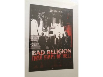 Bad Religion - New Maps of Hell - Poster - 41x59cm