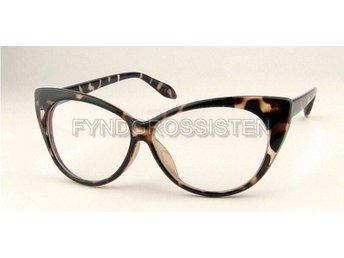 Glasögon Cat Eye Utan Styrka Vit .. (313357886) ᐈ FyndGrossisten på ... ee3a69b4edbee