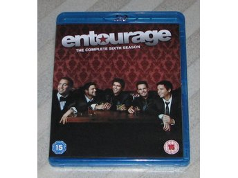 Entourage - Säsong 6 - Svensk Text - (Blu Ray) Bluray - 3-Disc -