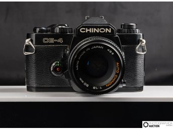Chinon CE-4 med 50mm f/1.9