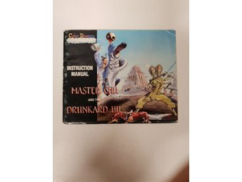 Master Chu and the Drunkard Hu - Manual NES NINTENDO - USA