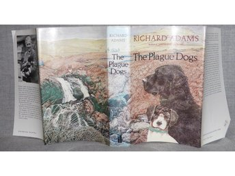 Richard Adams - The Plague Dogs. Illustrerad. Originalutgåva