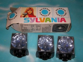 Blixt SYLVANIA FLASH CUBE 4X3