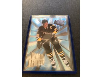 Mario Lemieux 1995-96 Fleer Metal heavy metal insert