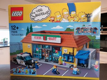 Nytt oöppnat Lego The Simpsons Kwik E Mart 71016