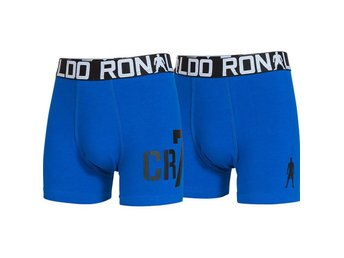 CR7 - Cristiano Ronaldo 2-Pack Boys Trunk Blue (116-128)