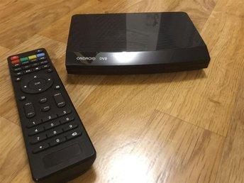 Android Smart BOX med inbyggd HD-digitalbox för fria marknätet DVB-T2 - Rödeby - Android Smart BOX med inbyggd HD-digitalbox för fria marknätet DVB-T2 - Rödeby