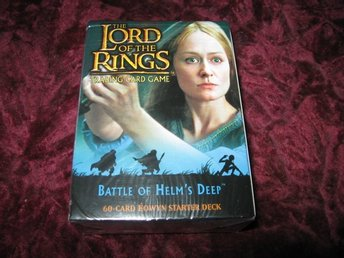 BATTLE OF HELM'S DEEP EOWYN STARTER DECK (SAGAN OM RINGEN) 60- KORT