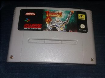 Super Turrican - SNES - RARE / EFTERTRAKTAD  RUN ´N GUN