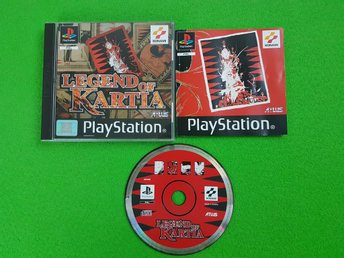 Legend of Kartia KOMPLETT Playstation ps1