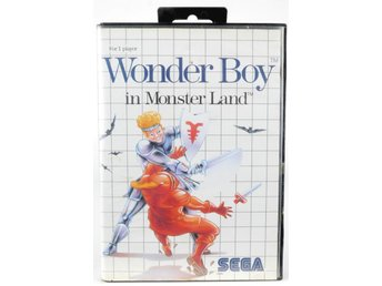Wonder Boy in Monster Land - Sega Master System - PAL (EU)