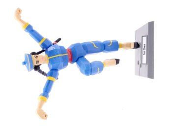 Virtua Fighter 2 Collection Pai Chan Action Figure (1996) -