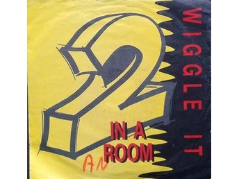 "2 In A Room title* Wiggle It* Hip-House 7"" Denmark"