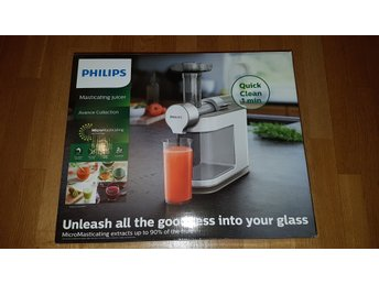 Slowjuicer Philips Avance Collection