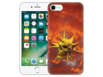 iPhone 7 Skal Golden Skull