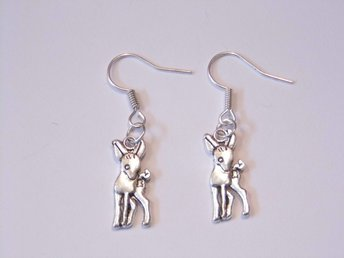 Rådjur örhängen / Deer earrings