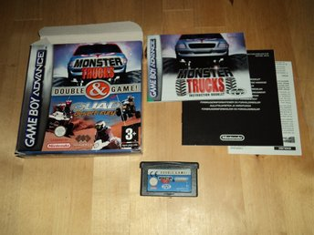 GBA Ouble Game Monster Trucks Quad