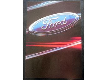 Ford modellprogram 1983