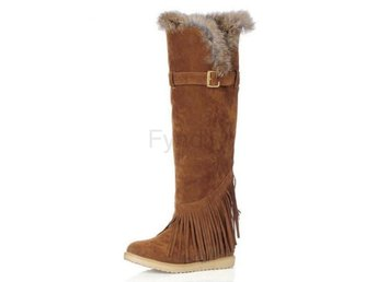 Dam Boots Shoes Snow Botas Woman Footwear Yellow 36