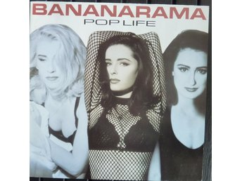 LP - Vinyl - Bananarama - Pop Life  - 1991