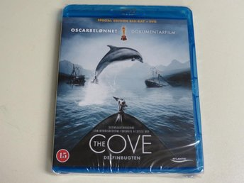 THE COVE (2-disc Blu-ray + DVD) Ny inplastad