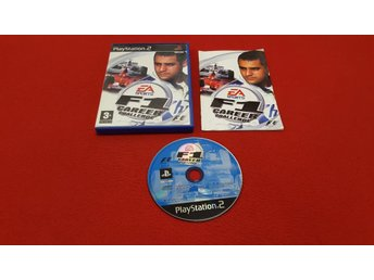 F1 CAREER CHALLENGE till Sony Playstation 2 PS2