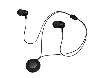 Trådlösa hörlurar runda form  / bluetooth earphones / metall bluetooth
