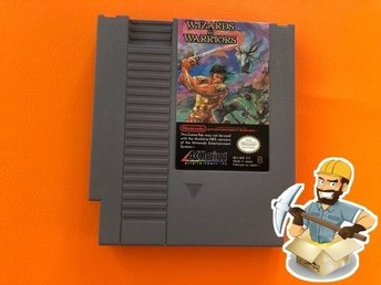 Wizards & Warriors EEC/SCN Nintendo 8-bit Nes