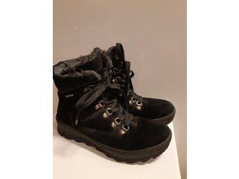 6c87e1b2d2c LEGERO GORE TEX vinterskor Kängor & Boots med pälsfoder, läder Strl.3,5/36